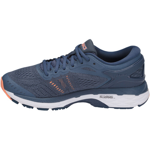 asics Gel-Kayano 24 - Chaussures running Femme - bleu sur campz.fr !